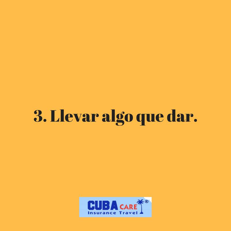 Consejos para viajar a Cuba: Llevar algo que dar